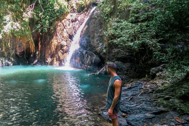 Kuyawyaw Waterfalls